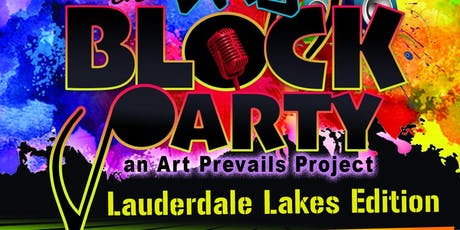 Art of the City: Block Party - Lauderdale Lakes Edition tickets