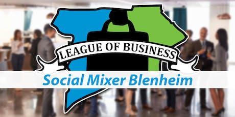 League of Business: Social Mixer Blenheim tickets