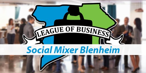 League of Business: Social Mixer Blenheim