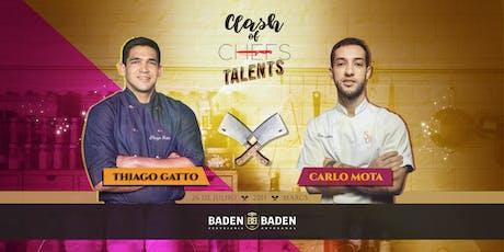Clash of Chefs #Clash3Talents ingressos