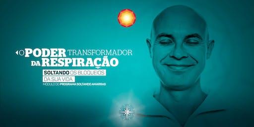 O PODER TRANSFORMADOR DA RESPIRAÇÃO/ Campinas-SP/ Brasil