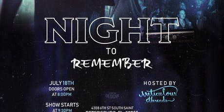 A Night To Remember by Meticulous Threads tickets