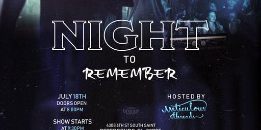 A Night To Remember by Meticulous Threads