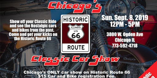 Chicago's Historic Route 66 Classic Car Show