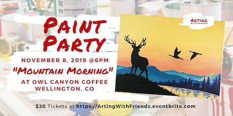 Mountain Morning - Owl Canyon Coffee tickets