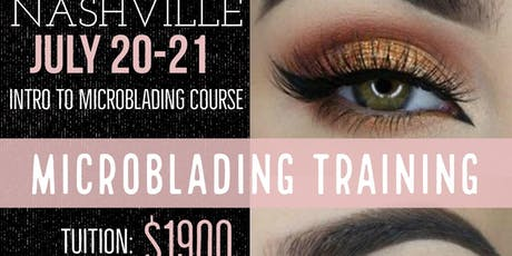 Nashville Pro 3D Microblading Certification tickets