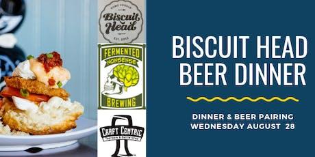 Biscuit Head Beer Dinner tickets