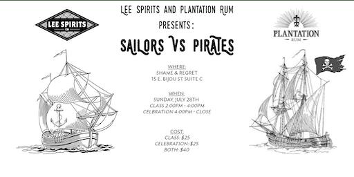 Sailors  vs Pirates Costume Party