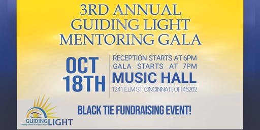 3rd Annual Guiding Light Mentoring Gala and Fundraising Event