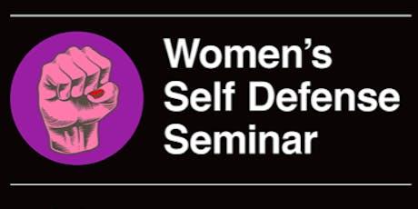 Women's Self Defense & Awareness Seminar tickets