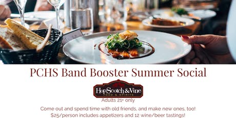 PCHS Band Booster Summer Social tickets
