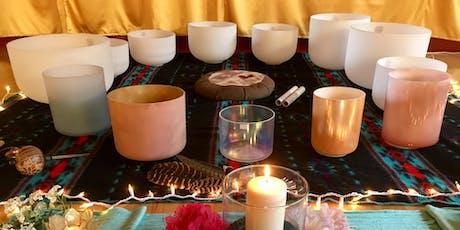 Healing Crystal Bowl Sound Bath tickets