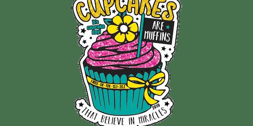 2019 Cupcake Day 1M, 5K, 10K, 13.1, 26.2 - Miami