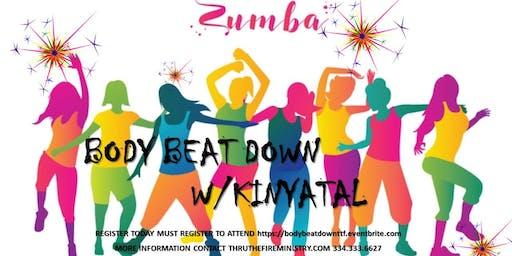 Zumba Beat Down with Kinyatal
