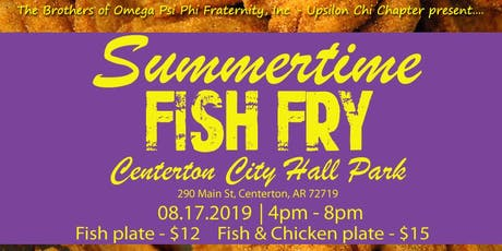 Annual Omega Psi Phi Summertime Fish Fry tickets