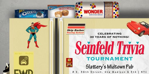 Seinfeld Trivia Tournament: Preliminary Round 2