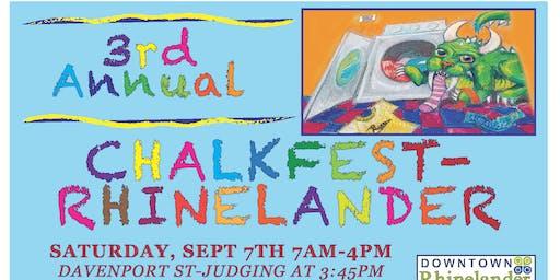 Rhinelander Chalkfest