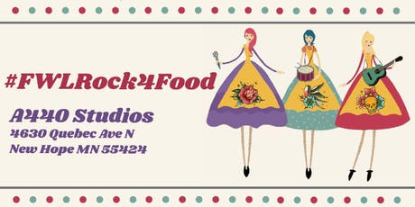 Food With Love's #FWLrock4food Concert! tickets