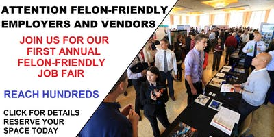 VENDORS/EMPLOYERS ONLY-OKC'S FELON-FRIENDLY JOB FAIR