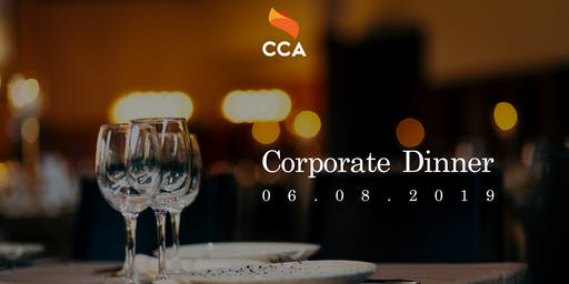 [SOLD OUT] CCA Presents: Corporate Dinner 2019!