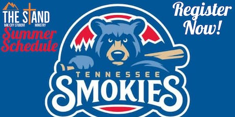 The Stand - Summer Event - Smokies Baseball Game tickets