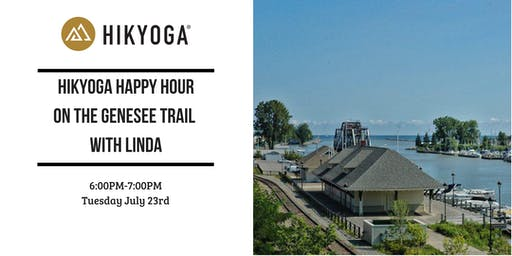 Hikyoga® Happy Hour on the Genesee Trail with Linda