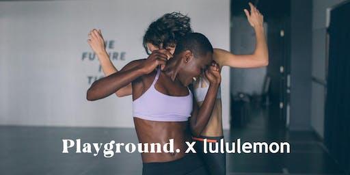 Playground x lululemon