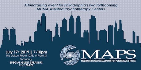 MDMA-Assisted Psychotherapy in Philadelphia - Public Fundraiser tickets