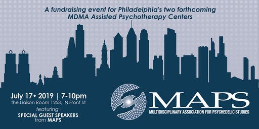 MDMA-Assisted Psychotherapy in Philadelphia - Public Fundraiser