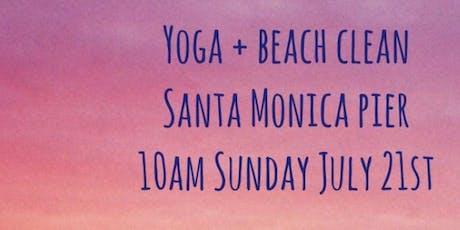 Yoga + Beach Clean  tickets