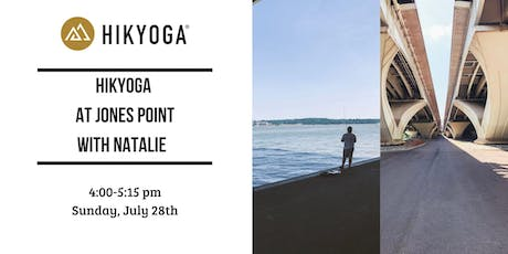 Hikyoga® at  Jones Point Park with Natalie tickets