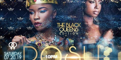 POSH SUMMER SIZZLE - NITE LIFE DANCE PARTY & MIX-HER - FOR MATURE WOMEN WHO LOVE WOMEN - BLACK QUEENS EDITION - WEAR YOUR CROWNS!  tickets