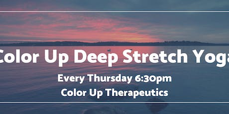 Color Up Deep Stretch Yoga tickets
