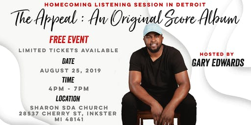 HOMECOMING:Gary Edwards Listening Session Detroit