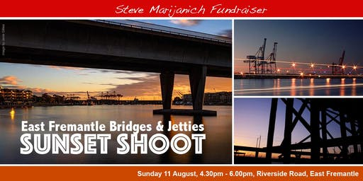 East Fremantle Jetties and Bridges Sunset Shoot (August 2019)