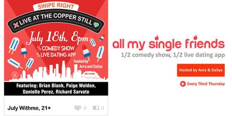 All My Single Friends: Hot Town, Single in the City tickets