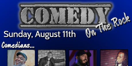 Comedy on the Rock tickets