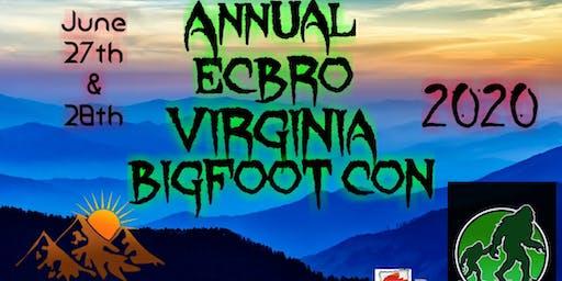 3rd Annual VIRGINIA BIGFOOT CON