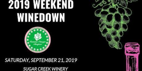 2019 Weekend Wine Down tickets