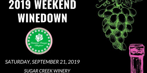 2019 Weekend Wine Down