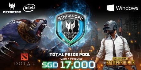 Predator League 2020 Singapore: PUBG tickets