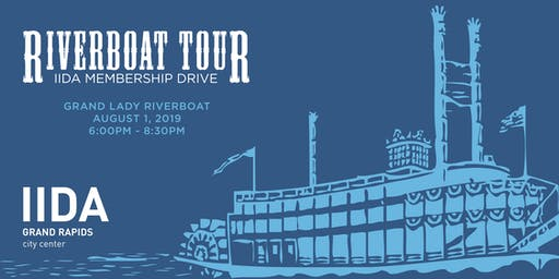 IIDA Grand Rapids Riverboat Tour & Membership Drive