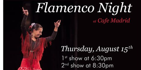 Flamenco Night at Cafe Madrid tickets