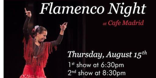 Flamenco Night at Cafe Madrid