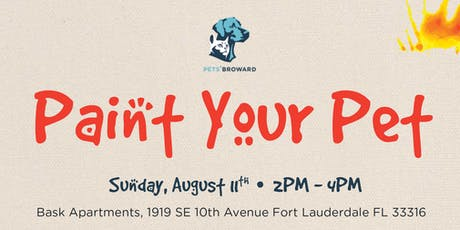 Paint Your Pet benefiting Pets' Broward tickets