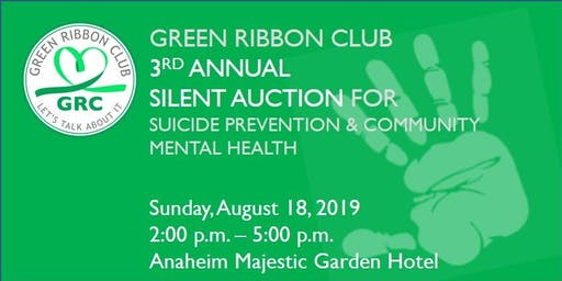 3rd Annual Silent Auction for Suicide Prevention & Community Mental Health