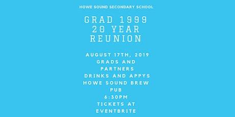 HSSS Grad '99 Reunion tickets