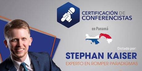 Certificación Internacional de Conferencistas  entradas