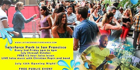 Salesforce Park Salsa Dance Party tickets