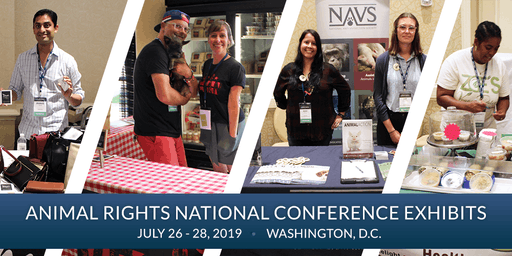 FREE: Exhibits at the Animal Rights 2019 National Conference